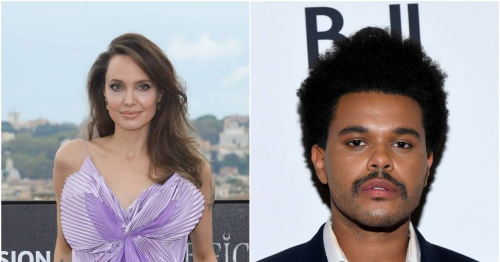 Angelina Jolie spotted with The Weeknd for the third time now |  Celebrity Care