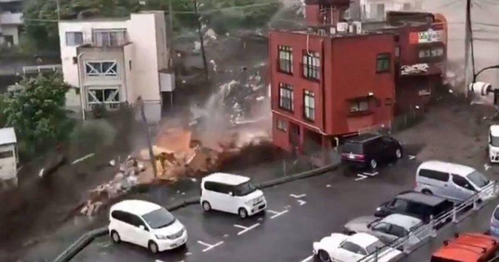 Dead and missing after landslides in Japan |  abroad