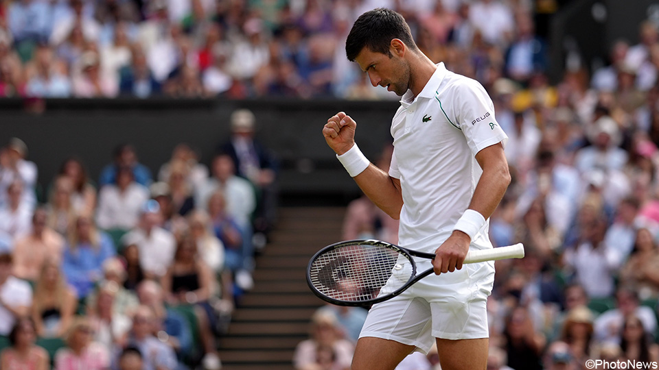 Djokovic wins for the sixth time at Wimbledon, equals Federer and Nadal |  Wimbledon