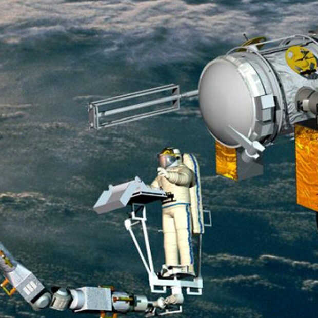 European-Dutch robotic arm soon to the International Space Station