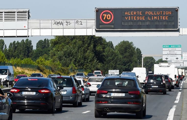 European roads turned red on Saturday: an added nuisance already due to flooding
