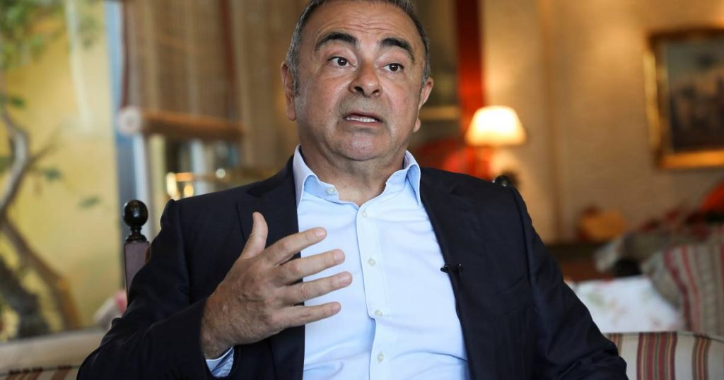 Former Nissan CEO Ghosn on fleeing Japan: 'The 30 minutes in this box was the longest of my life' |