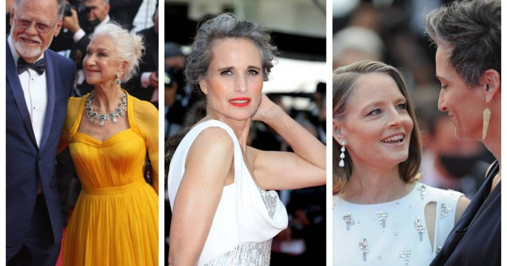 Gray Hair was a huge hit at the Cannes Film Festival (so it's officially not something to be ashamed of!) |  style