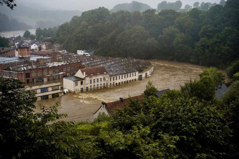 Heavy rain storms, like those in Wallonia, are 14 times more frequent in Europe: 'the wake-up call we need'