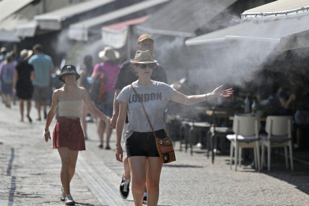 Historische hittegolf in Griekenland: vandaag temperaturen tot 46 graden