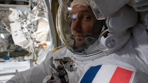 International Space Station astronaut Pesquet shares a detailed space image of the Netherlands