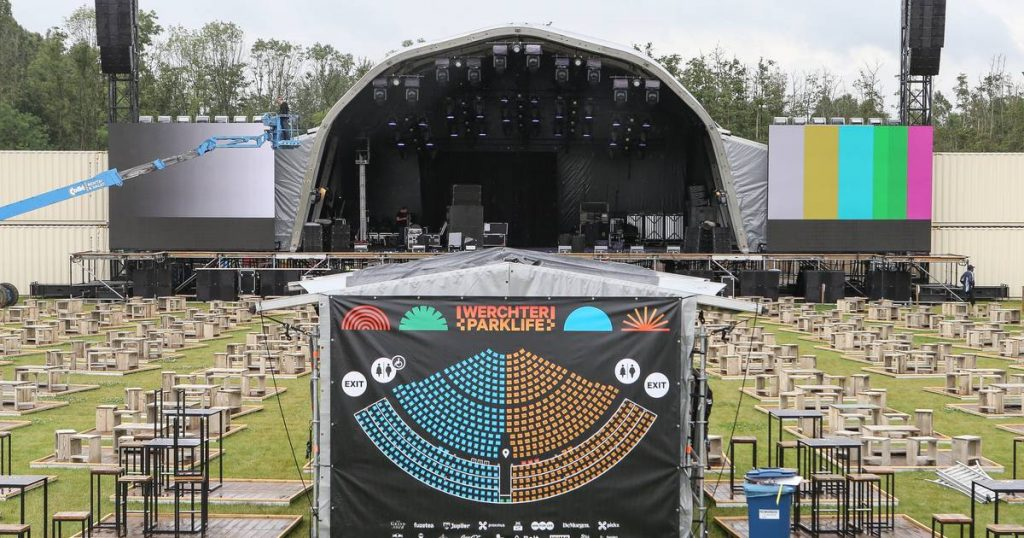 Invisible in the Belgian festival world: Werchter Parklife runs entirely on green electricity    showbiz