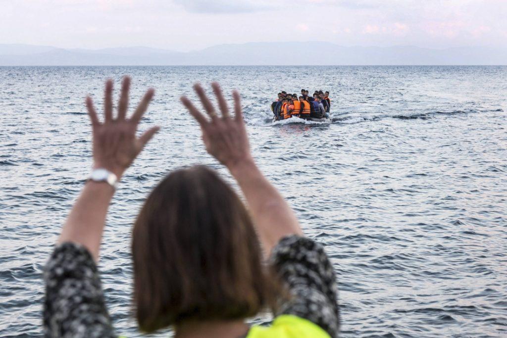 Libyan coast guard fires at migrant boat