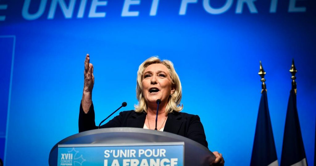 Marine Le Pen keeps her promise to purge the French far-right |  abroad