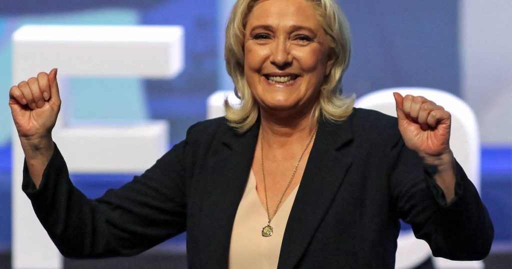 Marine Le Pen re-elected leader of the far-right National Rally  abroad