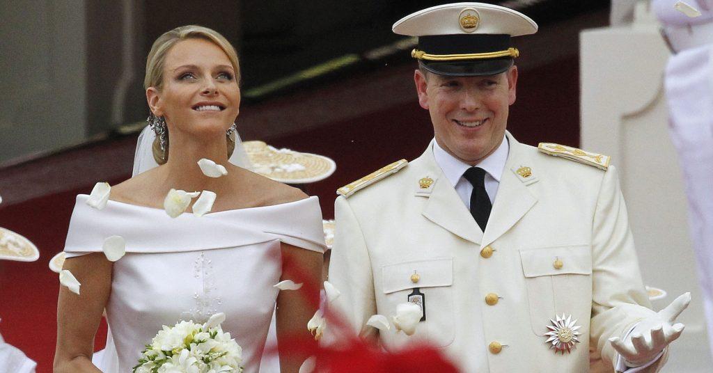 Nice to watch: Albert and Charlene's tin wedding