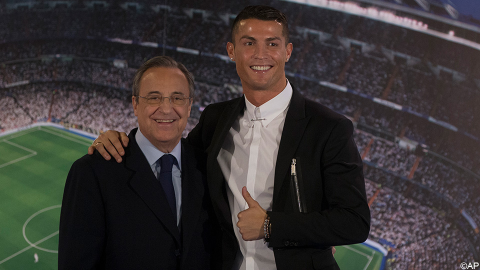 """Perez sneezes to Ronaldo in an audio clip: """"He's an idiot, a sick man"""" 