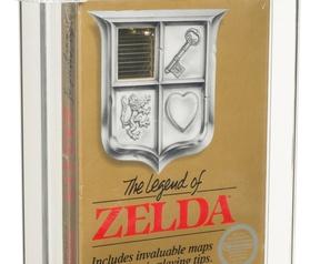 Zelda NES Auction July 2021