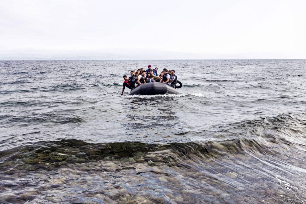 Record number of migrants crossing into the UK