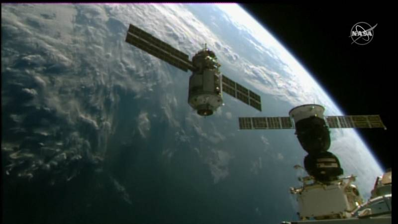 Russian unit with European robotic arm attached to the International Space Station: 'It was exciting'
