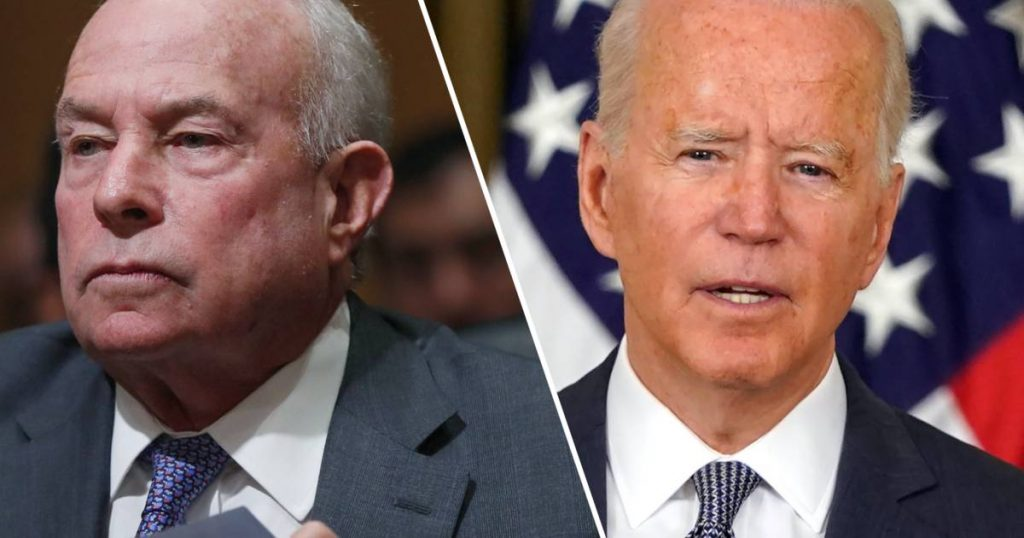 Senior official appointed by Donald Trump refuses to leave after Joe Biden sacks him |  abroad