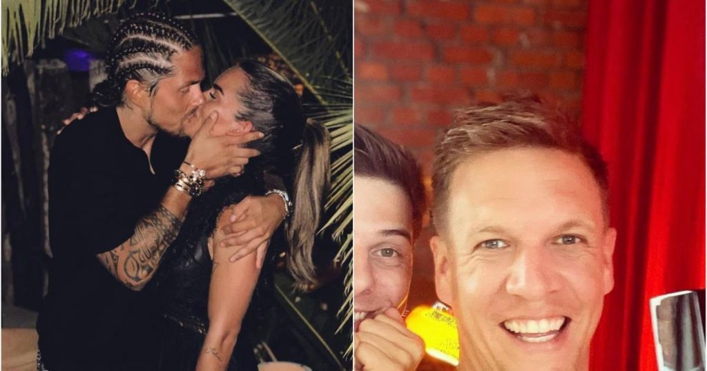 Showbits.  Still great love between André Hazes, Sarah and James Cook has found his wedding ring |  showbiz