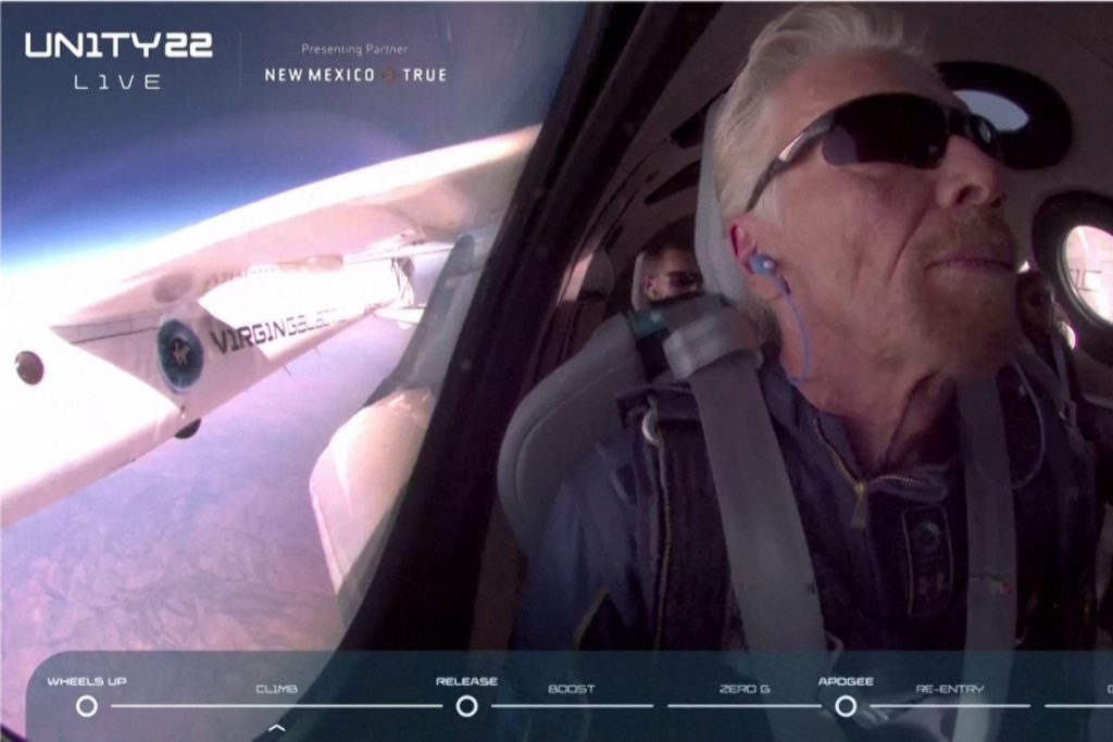 Successful spaceflight: Richard Branson landed safely after history...