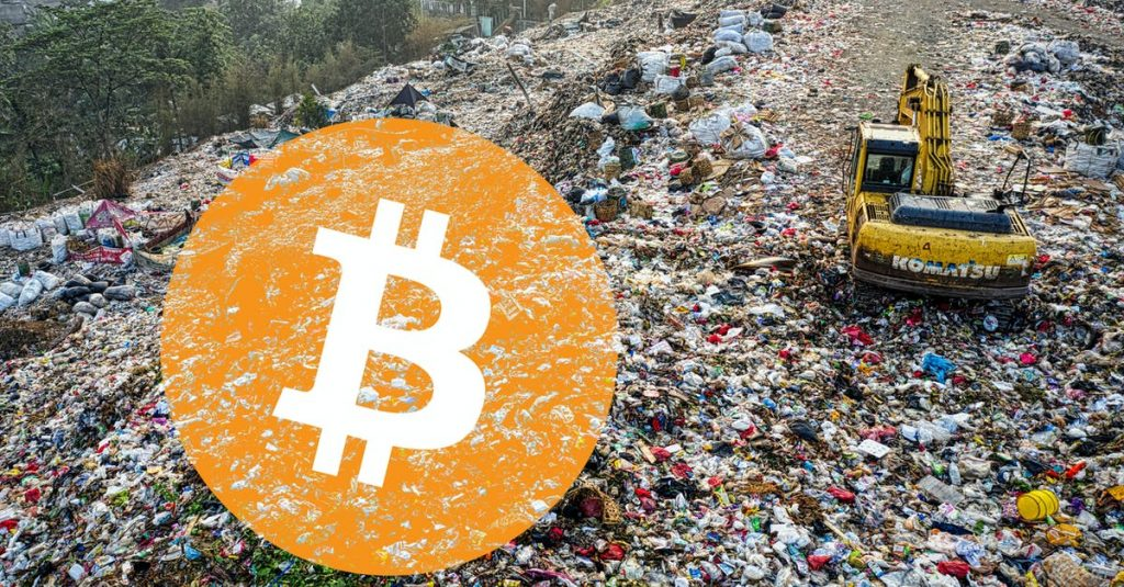 This man wants to dig 7,500 bitcoins in a landfill