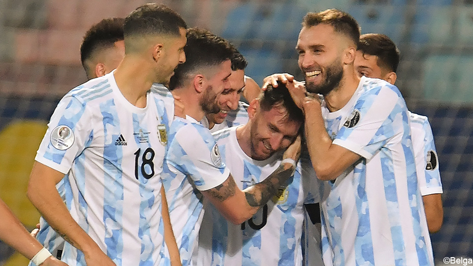 Video: Messi leads Argentina to the semi-finals of the Copa Cup with two passes and one beauty goal |  Copa America