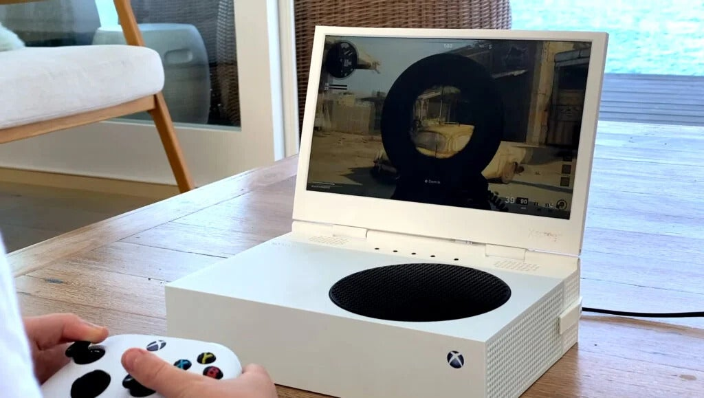XScreen turns Xbox Series S into a portable PC-like device and hits Kickstarter goal