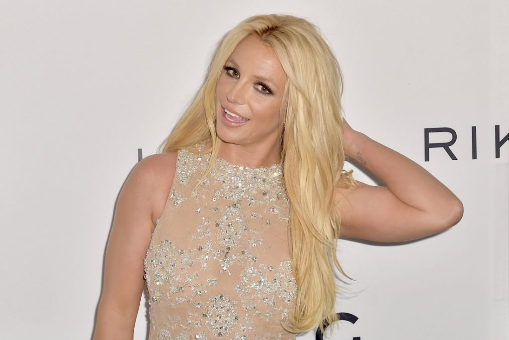 Britney Spears shares a topless photo on Instagram again