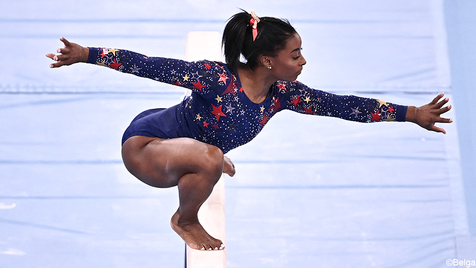 Why would Biles risk the beam?  'Much less chance of sprains'    the Olympics