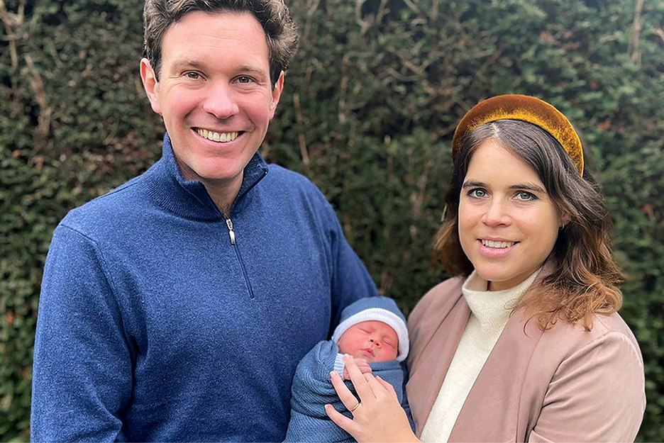 Princess Eugenie's husband is on a business trip but is under fire...
