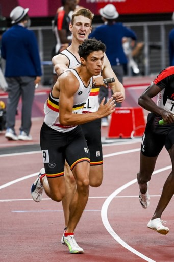 Fourth place in the Belgian Tornado in the last 4x400 meters in the Belgian record