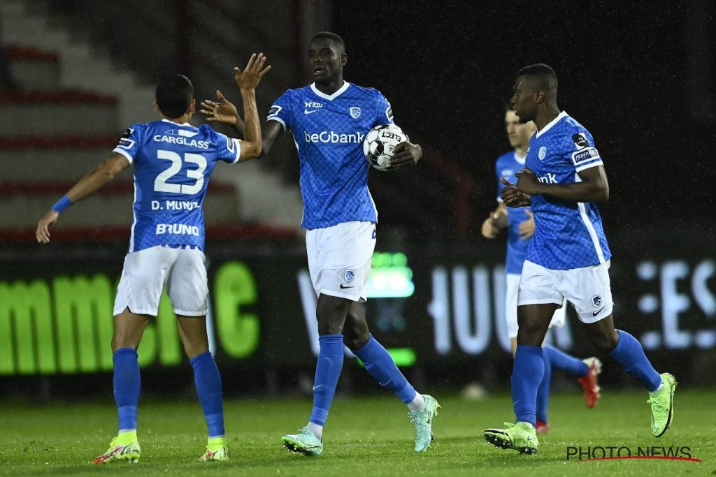 KV Kortrijk incurs its first defeat of the season: KRC Genk win after a goal in the absolute final