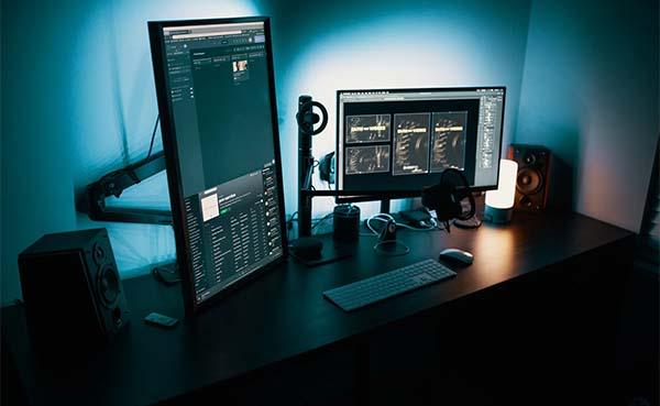 Thuiswerken? Kies voor monitor steunen voor 1 of 2 schermen