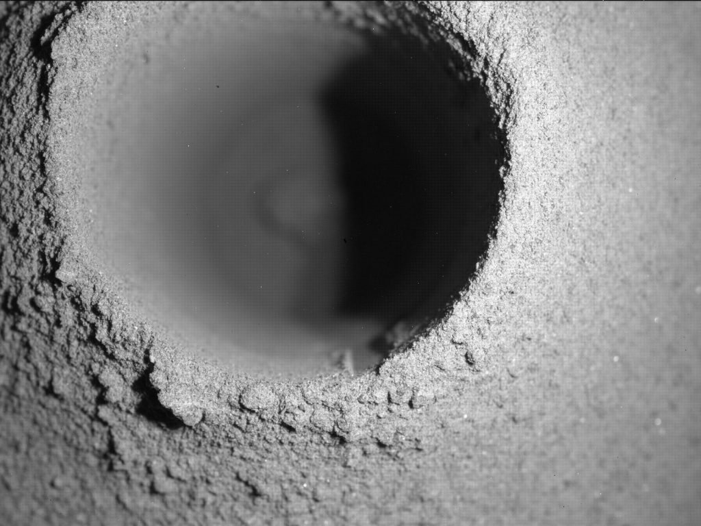 A mystery on Mars: The first rock sample has disappeared, and NASA faces a mystery