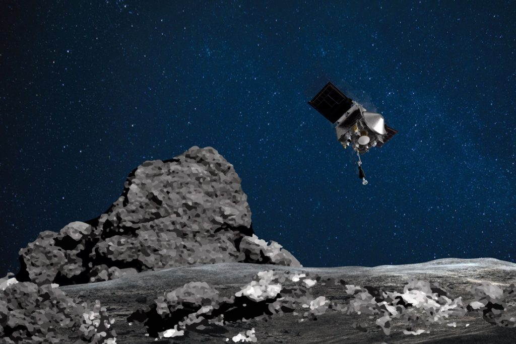 """NASA maakt straks """"belangrijke ontdekking"""" over asteroïde Bennu bekend"""