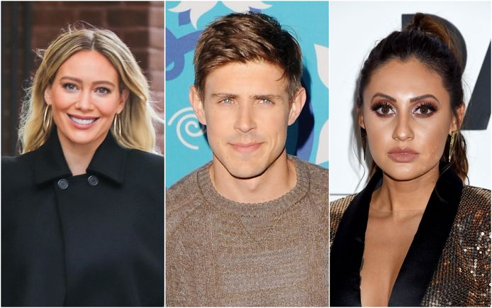 Hilary Duff and Chris Lowell from France Raisa