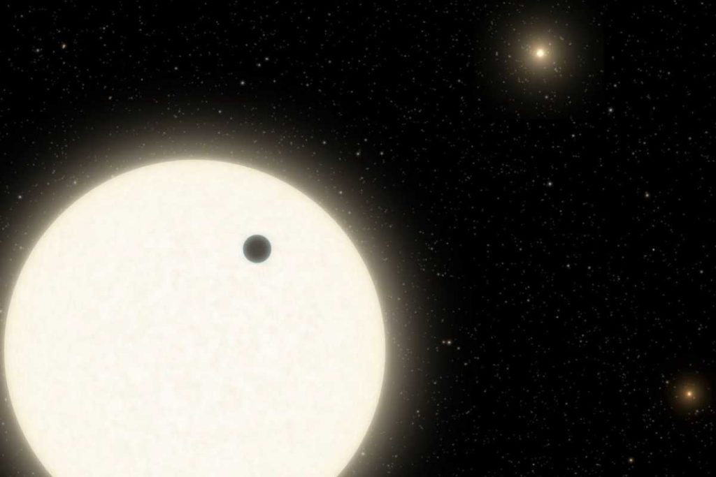 exoplanet with three suns