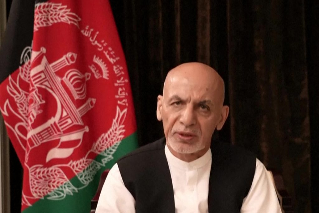 Ex-Afghan President Ghani from exile: I'm talking...