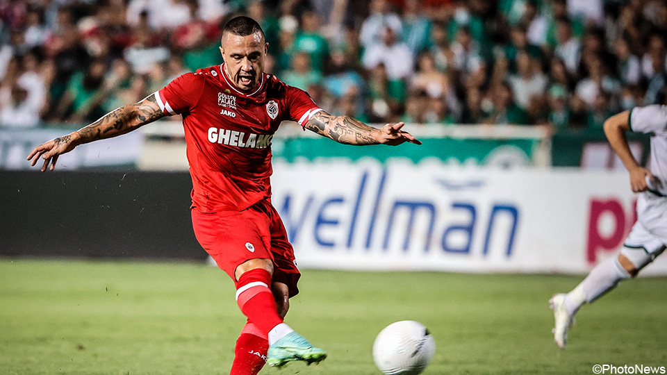 LIVE: Antwerp, with substitute Nainggolan, heads for painful defeat    European League 2021/2022
