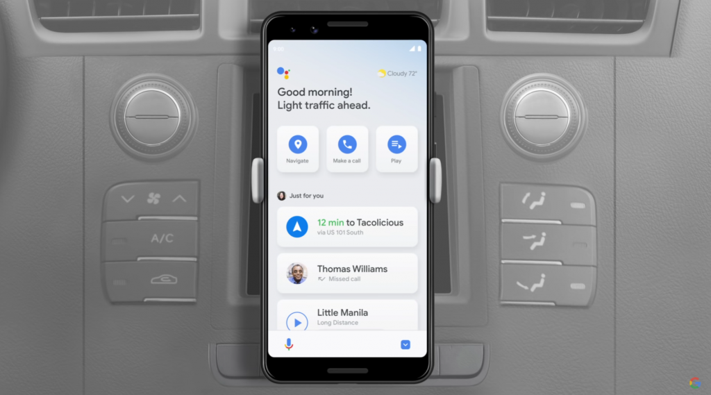Google discontinues Android Auto Phone app