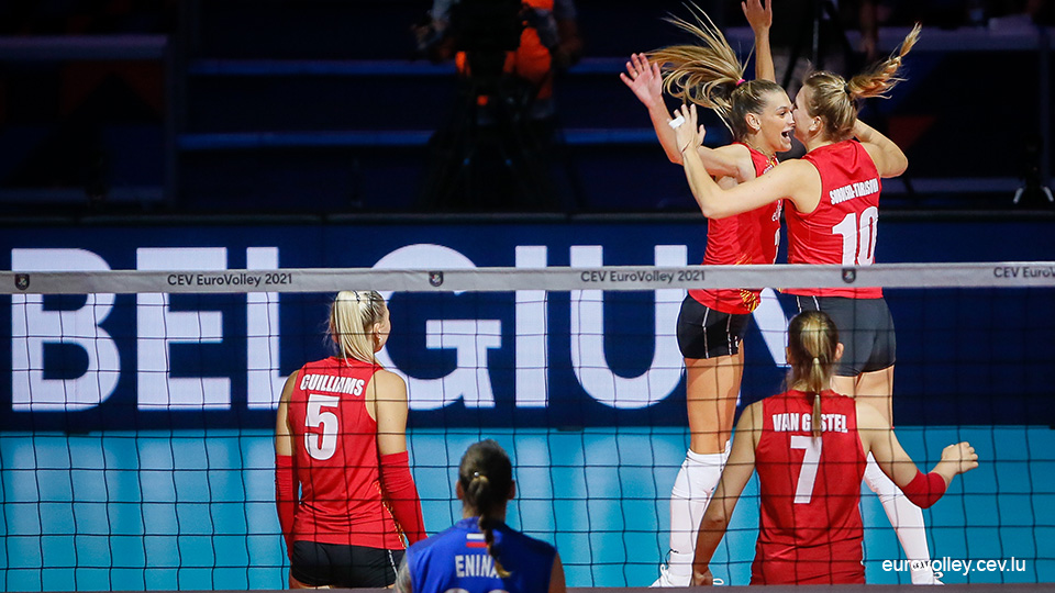 0-2-3-2: The Yellow Tigers stunt in the European Championship against Russia, the first country |  European Volleyball Championship