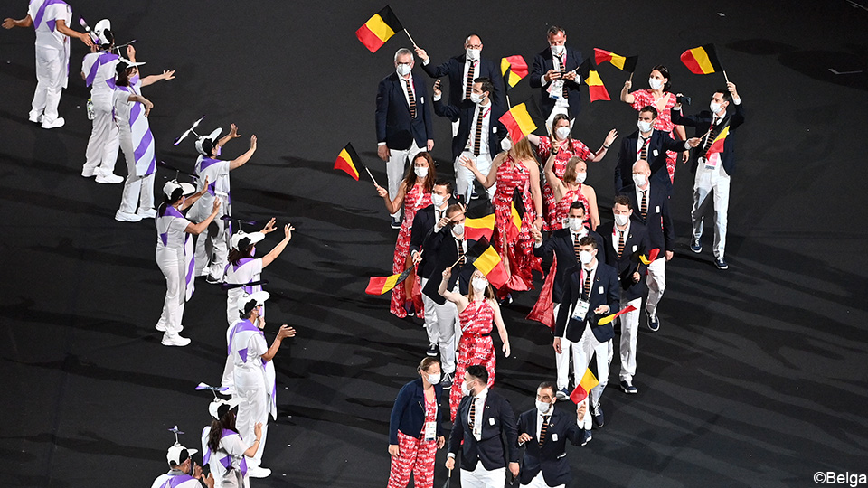 The Paralympic Games opened festively with the participation of 17 Belgian athletes in the stadium |  Games for people with special needs