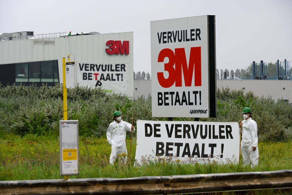 3M is committed to the separation of wastewater treatment