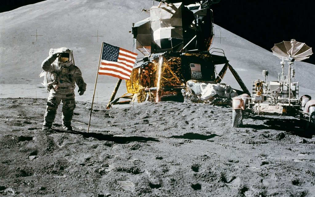 50 years ago, NASA relaunched the Apollo program and landed a rover on the moon