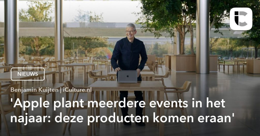 Apple has several events planned for fall 2021.