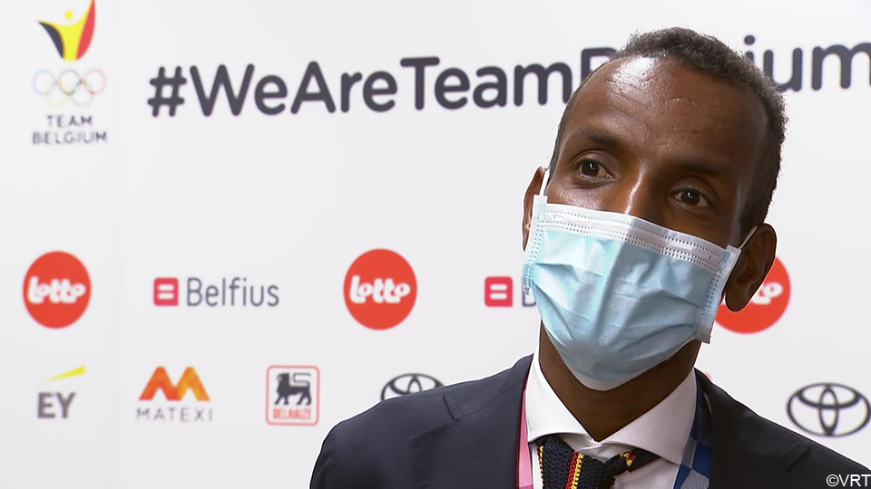 Bashir Abdi on arrival in Zaventem: Only now I realize what I have accomplished    the Olympics