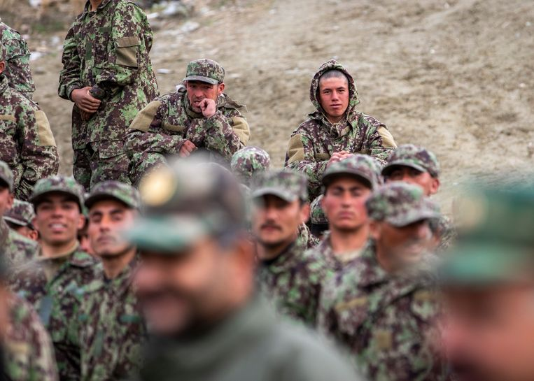 Belgium pumped $72 million into the Afghan army: it looks like this money is wasted now