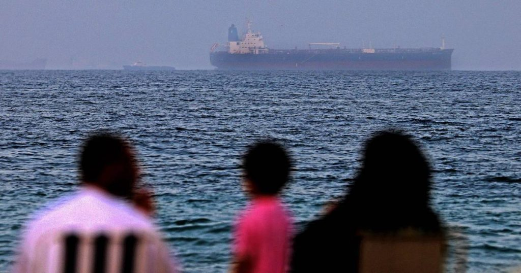 British warning of a possible hijacking of a ship in the Gulf of Oman |  abroad