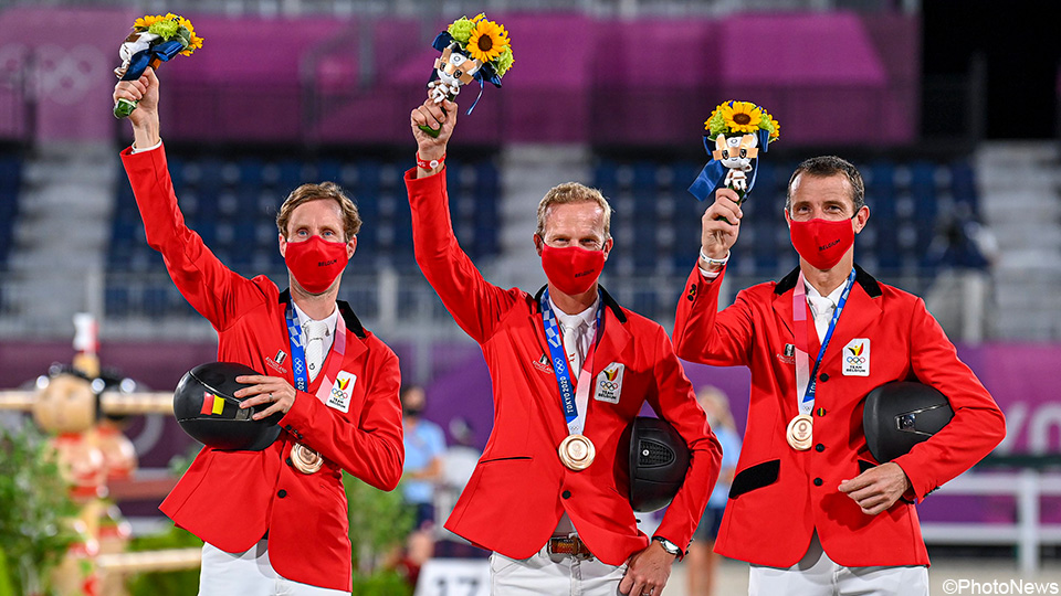 Bronze!  Jumpers still give Belgium a sixth medal |  the Olympics