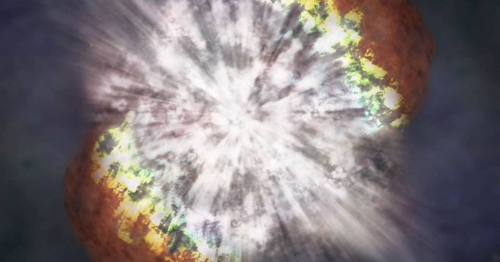 Champagne supernova: first detailed image of a star that just exploded |  Sciences