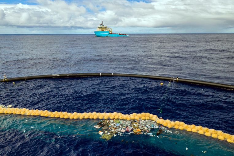Clean up the ocean: nearly a million kilograms of waste is picked up from seas and rivers