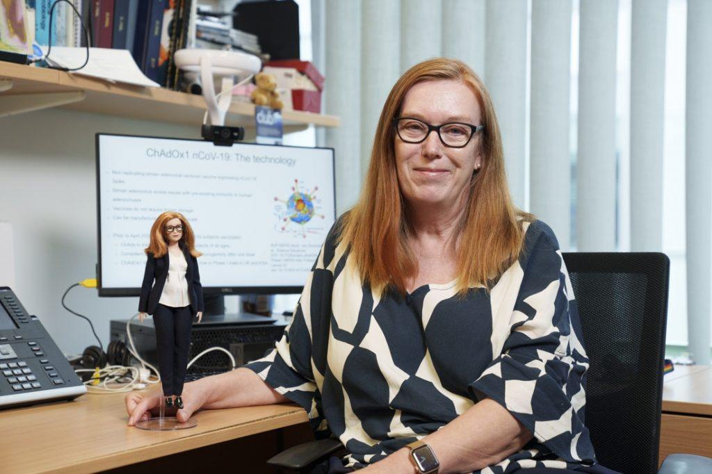 Co-developed AstraZeneca vaccine becomes Barbie